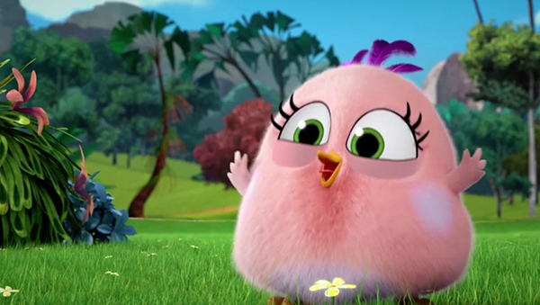 Zoe from Angry Birds